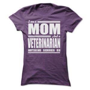 veterinarian mom t-shirt or hoodie